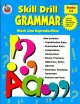 Go to record Skill drill grammar : a workbook for practice of basic gra...