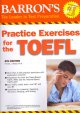 Go to record Barron's practice exercises for the TOEFL test of English ...